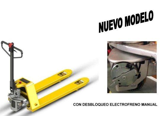 OFERTA nuevos modelos de transpaletas eléctricas y semieléctricas