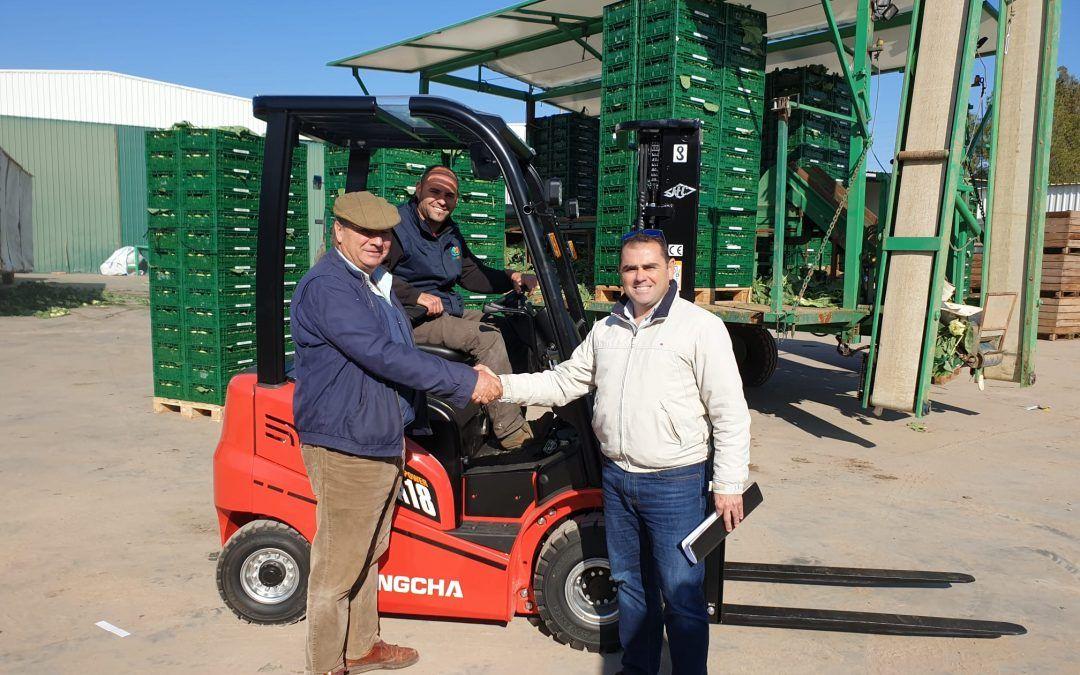 Entrega de carretilla elevadora HC Forklift – Hangcha de 4 ruedas a nuestro cliente Betagrande